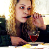 akamarykate: Helena eating jello (Helena eats)