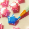 pessi_mista: Pencil and origami stars (Pencil and origami stars)