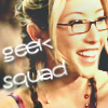 "amalnahurriyeh: Dollhouse: Sierra, with text ""geek squad"" (sierra)"
