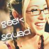 """amalnahurriyeh: Dollhouse: Sierra, with text """"geek squad"""" (sierra)"""