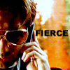 "amalnahurriyeh: XF: Mulder in Elvis glasses, with text ""fierce"" (fierce)"