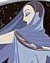zdashamber: Slinky woman from Erte's Moonlight (erte - moonlight)