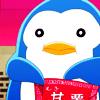genusshrike: Penguin eats snacks. (eats popcorn)