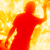discipuluschaos: ...You have to set yourself on fire! (when there's nothing left to burn...!)
