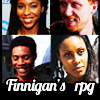 angelbabe_cj: text 'Finnigan's rpg' with four character images, two men two women (RPG)