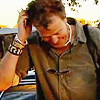 ext_1239: The Clarkson in Botswana, wearing many beads (Not the man I was)