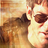 esteefee: john sheppard in aviators in overexposed sandy background from The Defiant One (afghanistan)