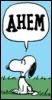 myschyf: (Snoopy Ahem!)