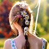 aerilaya: roxicons @ lj (flowers in hair)