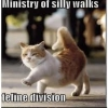 kerkevik_2014: (Ministry of Silly Walks: Feline Division)