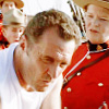 wychwood: Lt Welsh in a vest being leered at by Mounties (due South - Welsh mancandy)