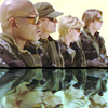 dira: Teal'c, Jack, Sam, and Daniel, in shades. (SG-1 - Reflected)