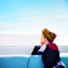 thingswithwings: Janeway looks out over a bridge at a beautiful view (trek - Janeway looking out over a bridge)