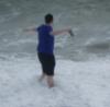 gin_gerkitten: Went paddling on Pride weekend.  It was cold. (Sea)