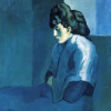 misbegotten: Picasso's Melancholy Woman (Art Picasso Blue Woman)