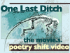 "eriktrips: A tiny picture of Ida, the missing link, and the words ""One Last Ditch: the movie(s). Poetry Shift Video"" (oneLastDitchTheMovie.s.)"
