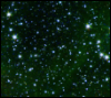 across_space_and_time: A dense scattering of stars set on a bottle-green backdrop (Default)