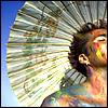 aidara: Rainbow-painted man (Default)