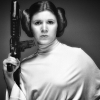 misbegotten: Princess Leia with a blaster (SW Leia Have Gun Will Travel)