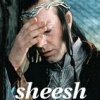 azalaisdep: Elrond with headache! (sheesh)