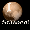 "jesse_the_k: Photo of Pluto's heart region with text ""I"" above and ""science"" below. (I love science)"