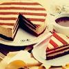 faere: (striped cake!)