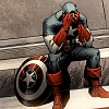 musesfool: sad cap is sad (too sick to pray)
