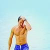 super_seal: (Shirtless - Bathing Suit - Hair)