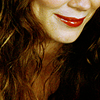 ninamazing: Close crop of the gorgeous hair and smiling lips of Anna Friel as Chuck from Pushing Daisies. (i know a secret, darling! isn't it wonderful?)