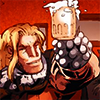 tocryabout: Sabretooth holding up a beer stein, from Death of Wolverine comic (sabretooth also day-drinking)