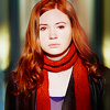 clockfraught: (dw; amy pond; scarf life)