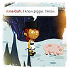 thedivinegoat: My Glitch Avatar in Ilmenskie Caverns, saying 'I know piggie, I know' to a depressed piggie. (Glitch - I know Piggie)