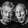 misbegotten: Ian McKellen and Patrick Stewart making faces (RP McKellen & Stewart)