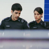 skieswideopen: Sam & Andy walking side by side (Rookie Blue: Sam & Andy)