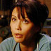 skieswideopen: Dr. Carolyn Lam in medical scrubs (SG: Carolyn Lam)