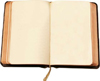 scripture_club: An open book, its pages blank. (Blank Book)