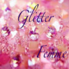 thimpressionist: the words glitter femme on a sparkly pink background (Default)