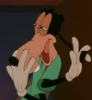 raven2547: A weird picture of Goofy from the Goofy Movie. The end scene with Powerline and he walks in on the woman getting dressed (Default)