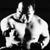 smackshack: Mas Oyama blows out a candle...with his fist. (Oyama with a candle)