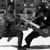 smackshack: Ninjas with guitars. Like dueling banjos, but awesome. (Ninjas with guitars. Like dueling banjos)