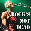 metaphortunate: (rock's not dead)