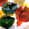 rosefox: Origami boxes. (you're welcome, gift, origami, helpful)