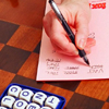 rosefox: A game of Boggle and my mother's hand writing down words. (word games, words)