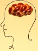 rosefox: A head with challah for brains. (food)