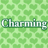 "rosefox: Green hearts and the word ""Charming"". (charmed)"