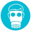 rosefox: A person in a gas mask. (illness)