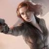 james: Black Widow shooting a gun (Black Widow shooting)