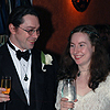 rosefox: Me and Josh at our wedding. (wedding)