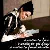 misbegotten: Penny Dreadful's Vanessa Ives writing (PD Vanessa Writing)