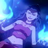 "lizbee: Screencap of Azula in ""The Beach"" wielding blue fire (Avatar: Azula (blue fire))"